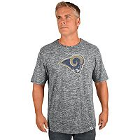 Men's Majestic Los Angeles Rams Last Minutes Tee