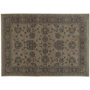 StyleHaven Faulkner Persian Inspiration Ikat Framed Floral Wool Rug