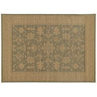 StyleHaven Faulkner New Traditions Framed Floral Wool Rug