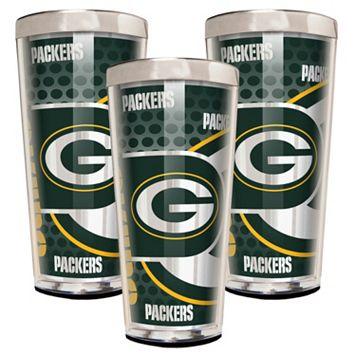 Green Bay Packers 3-Piece Shot Glass Set