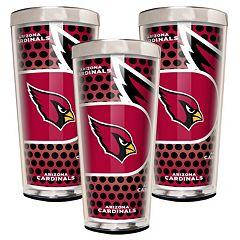 Arizona Cardinals 3 pc Shot Glass Set
