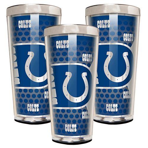Indianapolis Colts 3-Piece Shot Glass Set