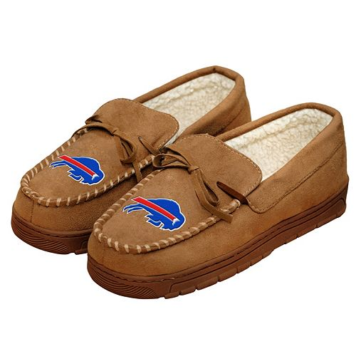 Men's Forever Collectibles Buffalo Bills Moccasin Slippers