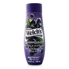 SodaStream Welch's Concord Grape Sparkling Drink Mix