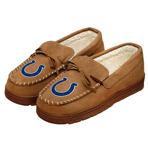 ccae80d8 Men's Forever Collectibles Indianapolis Colts Moccasin Slippers
