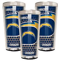 San Diego Chargers 3-Piece Shot Glass Set