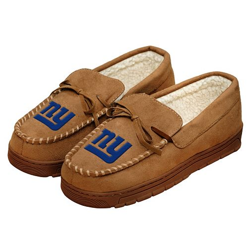 Men's Forever Collectibles New York Giants Moccasin Slippers
