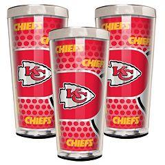 Kansas City Chiefs 3-Piece Shot Glass Set