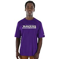 Men's Majestic Baltimore Ravens Fanfare Tee