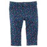 Baby Girl OshKosh B'gosh® Floral Elastic-Back Pants