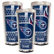 Tennessee Titans 3 pc Shot Glass Set