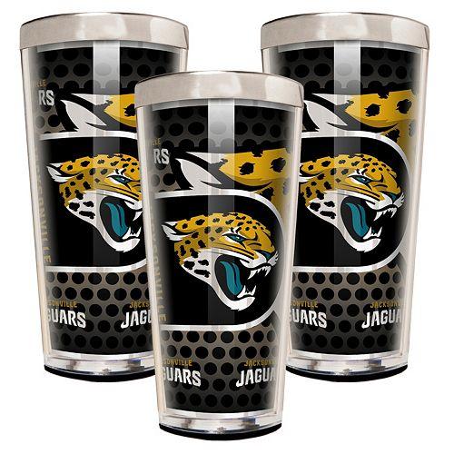 Jacksonville Jaguars 3-Piece Shot Glass Set