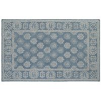 Oriental Weavers Manor Bordered Medallion Wool Rug