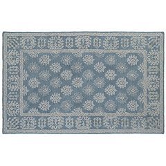StyleHaven Milton Bordered Medallion Wool Rug