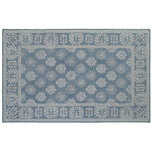 StyleHaven Milton Bordered Medallion Wool Rug
