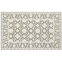 Oriental Weavers Manor Framed Floral Wool Rug