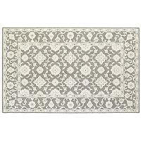 Oriental Weavers Manor Framed Floral Wool Rug