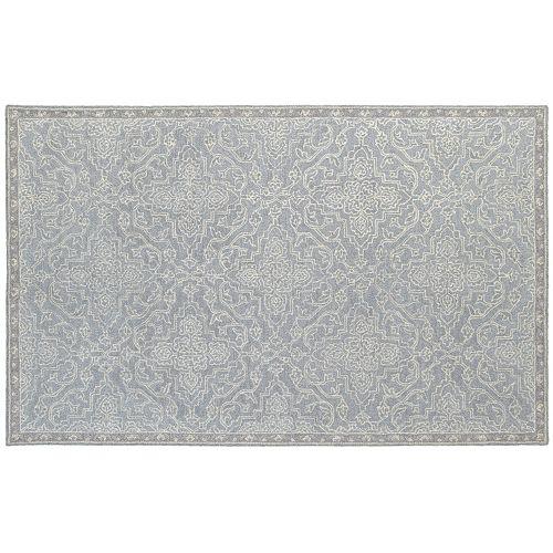 StyleHaven Milton Updated Panel Medallion Wool Rug