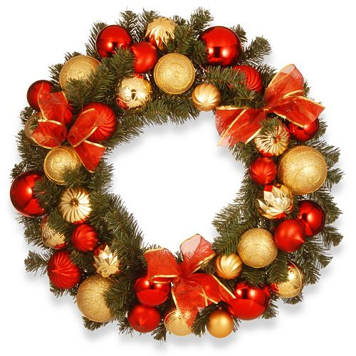 National Tree Company 30-in. Artificial Pine Christmas Ornament Wreath