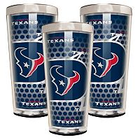 Houston Texans 3-Piece Shot Glass Set