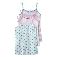Girls 2-16 Trimfit 3 pkPattern Camisoles