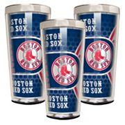 Boston Red Sox 3 pc Shot Glass Set