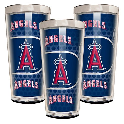 Los Angeles Angels of Anaheim 3-Piece Shot Glass Set