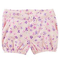 Baby Girl OshKosh B'gosh® Floral Bubble Shorts