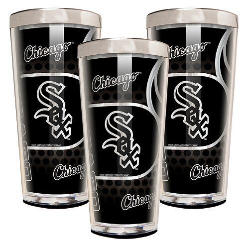 Chicago White Sox 3-Piece Shot Glass Set
