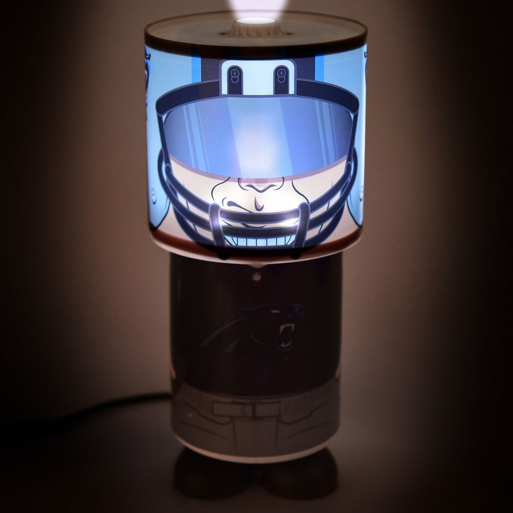 Forever Collectibles Carolina Panthers Desk Lamp