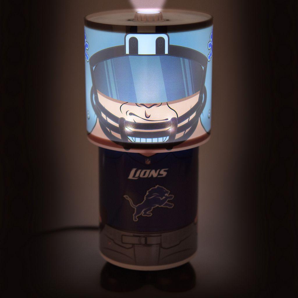 Forever Collectibles Detroit Lions Desk Lamp