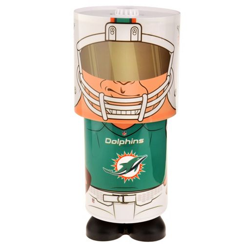 Forever Collectibles Miami Dolphins Desk Lamp