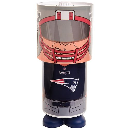 Forever Collectibles New England Patriots Desk Lamp