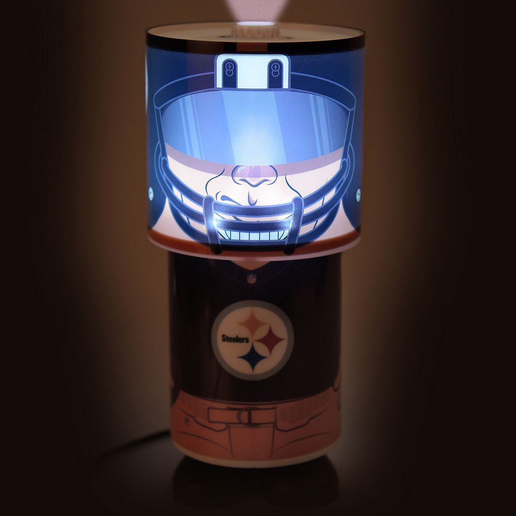 Forever Collectibles Pittsburgh Steelers Desk Lamp