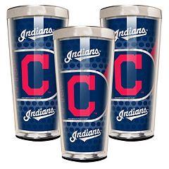 Cleveland Indians 3-Piece Shot Glass Set