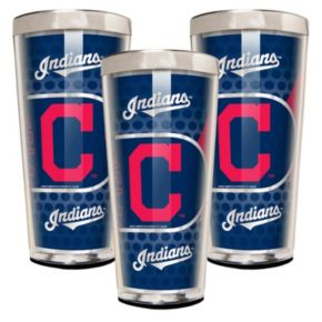 Cleveland Indians 3-Piece Shot Glass Set