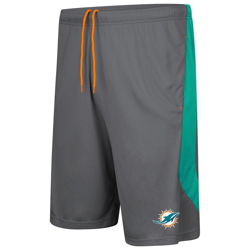 Men's Majestic Miami Dolphins Last Rally Shorts