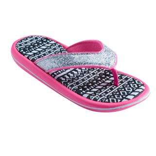 Girls 4-16 Tribal Molded Sport Flip Flops