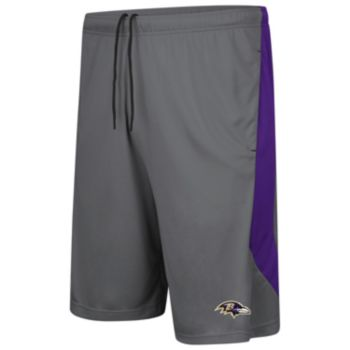 Men's Majestic Baltimore Ravens Last Rally Shorts
