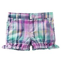 Baby Girl OshKosh B'gosh® Plaid Bubble Shorts