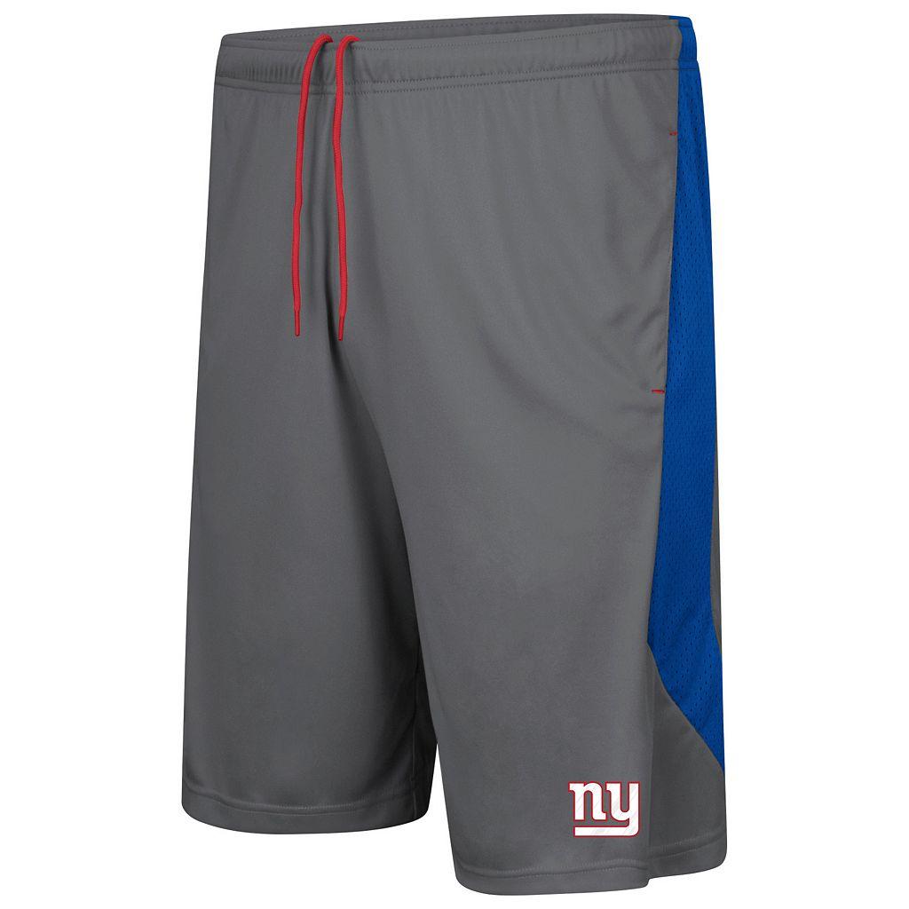 Men's Majestic New York Giants Last Rally Shorts