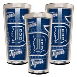 Detroit Tigers 3-Piece Shot Glass Set