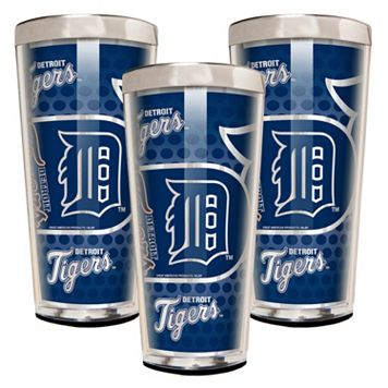 Detroit Tigers 3-Piece Shot Glass Set