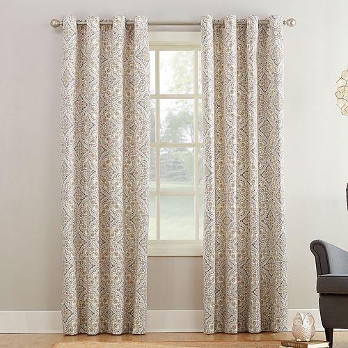 Sun Zero Unica Window Curtain