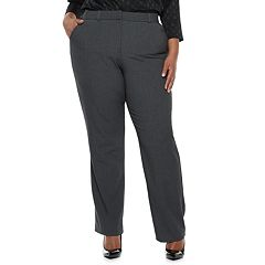 Plus Size Napa Valley Comfort Waist Slimming Bi-Stretch Dress Pants