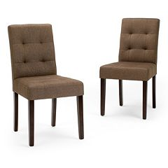 Simpli Home Andover Dining Chair 2 pc Set