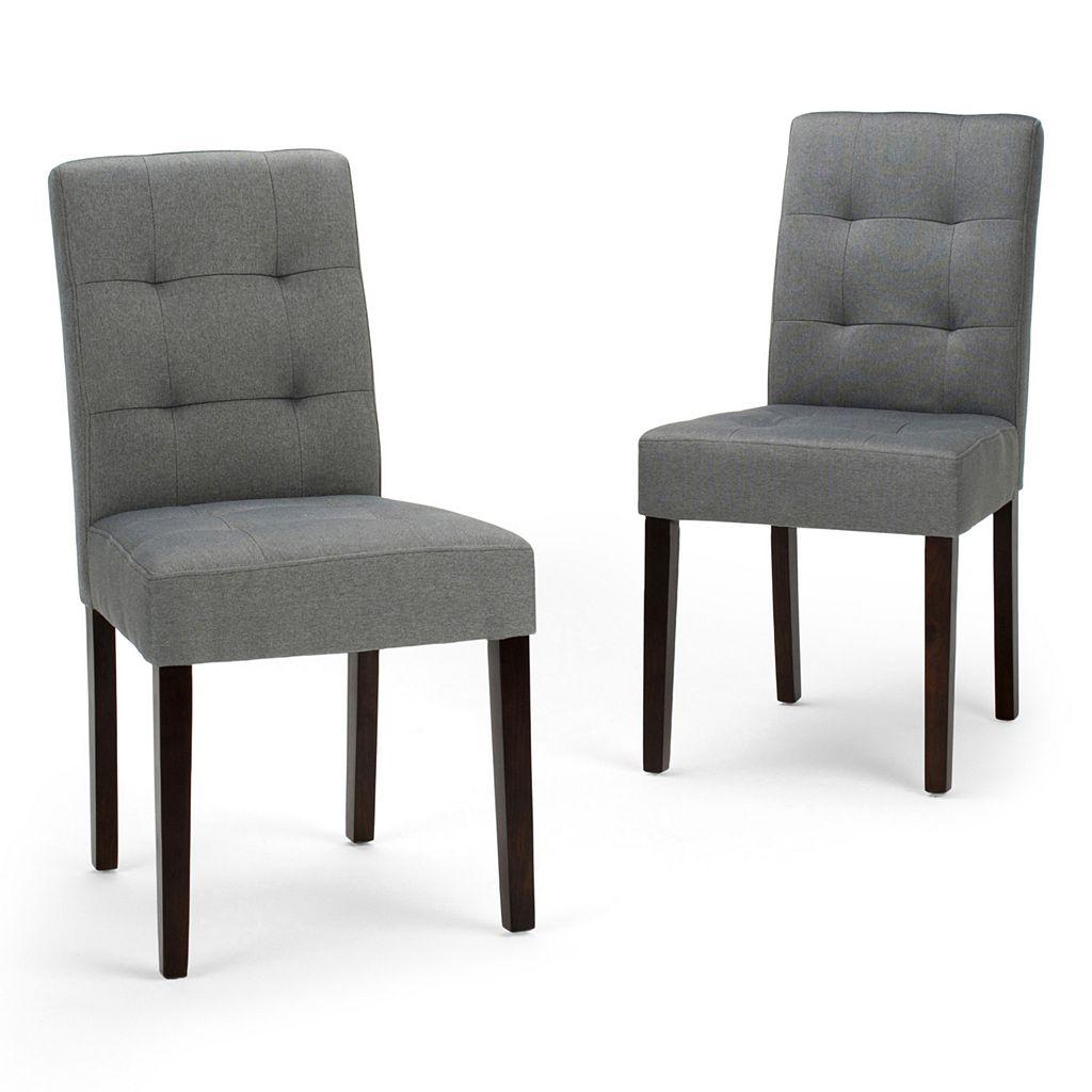 Simpli Home Andover Dining Chair 2-piece Set