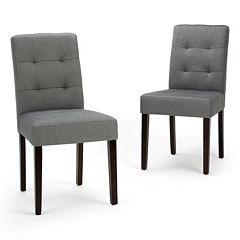 Simpli Home Andover Dining Chair 2-piece Set