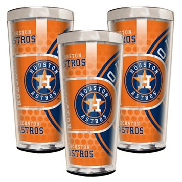Houston Astros 3-Piece Shot Glass Set