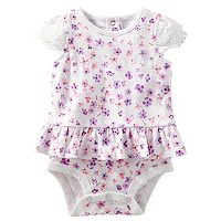 Baby Girl OshKosh B'gosh® Floral Skirted Bodysuit